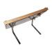 Expositor panal en marco de madera langstroth.