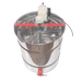 Radial stainless extractor 9 frames 48x17 motor.