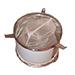 Double filtre à sac-mûrisseur inox 50 / 100kg.