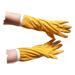 Dünne Skay-Handschuhe für gelbe Imker.