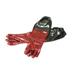 Elastischer Imker-PVC-Handschuh.