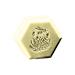 Savon hexagonal miel et gelée royale 100gr.-42ud.