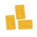 Sapone rettangolare al miele 100gr.-50ud.