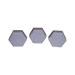 Jabón hexagonal  miel y lavanda  100gr.-42ud.