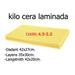 Folhas de cera laminadas Kilo 4,9 à sua escolha.