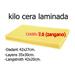 Kilo zangano cera fogli 7.0 laminati choose-ud.