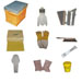 Eco hobbyist beekeeper kit. with colmera-kit 01.