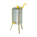 Manual langstroth 3 frame extractor with legs.