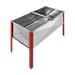 Cubeta desopercular inox 1000x500x380mm-sin tapa.