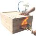 Marcador de colmenas gas a fuego.