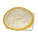 Bluson blanco tela semi recia careta redonda M1.