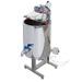 Mezclador-homogenizador inox 100kg-calefactado.