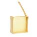 Wood honeycomb honey system batch.
