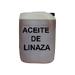 Aceite de linaza sin secante 20 litros.