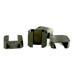 Hoffman de plástico negro para marcos.