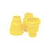 Porta cúpulas liso amarillo Jenter-bolsa 100ud.