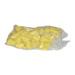 Porta cúpula estriado amarillo Jenter-bolsa 100ud.