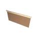 Langstroth-Box aus Holz.