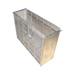 Caja excluidor de reinas de metal.