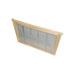 Partición-excluidor de reinas madera acero dadant.