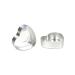 Portacandele cuore in alluminio - 50 unità.