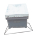 Light support triangular hive langstroth.