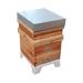 Support plastique universel pour ruche.