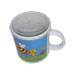 Mug with painted bee 350gr.