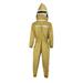 Traje astronauta profesional apicultor caqui.