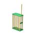 Jaula de bambú reinas.
